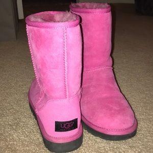 Pink UGGS